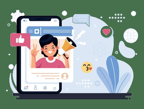 Social media optimization and marketing